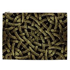 Ancient Arabesque Stone Ornament Cosmetic Bag (xxl)