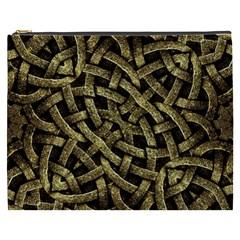 Ancient Arabesque Stone Ornament Cosmetic Bag (xxxl)