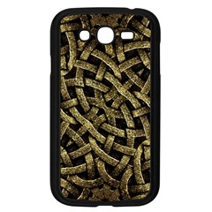 Ancient Arabesque Stone Ornament Samsung Galaxy Grand DUOS I9082 Case (Black)
