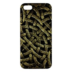 Ancient Arabesque Stone Ornament iPhone 5S Premium Hardshell Case