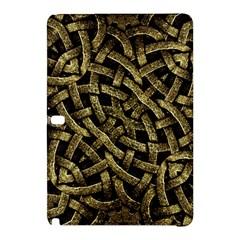 Ancient Arabesque Stone Ornament Samsung Galaxy Tab Pro 10 1 Hardshell Case