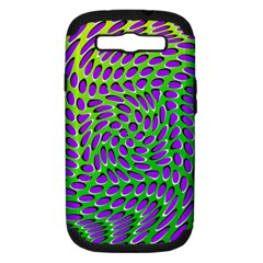 Illusion Delusion Samsung Galaxy S Iii Hardshell Case (pc+silicone)