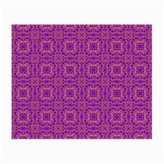 Purple Moroccan Pattern Glasses Cloth (Small)