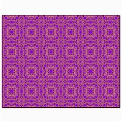 Purple Moroccan Pattern Canvas 11  x 14  (Unframed)