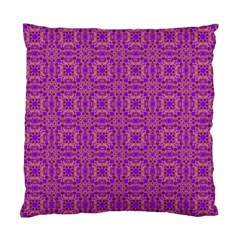 Purple Moroccan Pattern Cushion Case (Two Sided)
