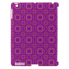 Purple Moroccan Pattern Apple Ipad 3/4 Hardshell Case (compatible With Smart Cover)