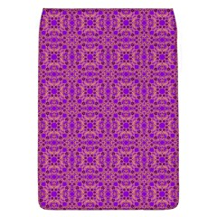Purple Moroccan Pattern Removable Flap Cover (large)