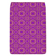 Purple Moroccan Pattern Removable Flap Cover (small)