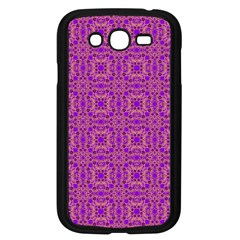 Purple Moroccan Pattern Samsung Galaxy Grand DUOS I9082 Case (Black)