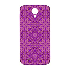 Purple Moroccan Pattern Samsung Galaxy S4 I9500/i9505  Hardshell Back Case