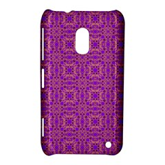 Purple Moroccan Pattern Nokia Lumia 620 Hardshell Case
