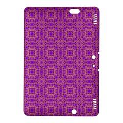 Purple Moroccan Pattern Kindle Fire Hdx 8 9  Hardshell Case