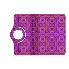 Purple Moroccan Pattern Kindle Fire HD 7  (2nd Gen) Flip 360 Case