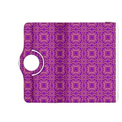 Purple Moroccan Pattern Kindle Fire HDX 8.9  Flip 360 Case