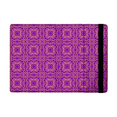 Purple Moroccan Pattern Apple iPad Mini 2 Flip Case
