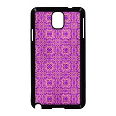 Purple Moroccan Pattern Samsung Galaxy Note 3 Neo Hardshell Case (black)
