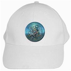 Led Zeppelin III Art White Baseball Cap