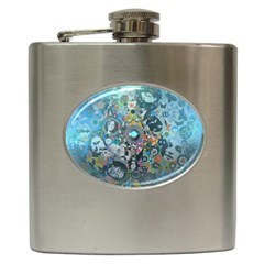 Led Zeppelin III Art Hip Flask