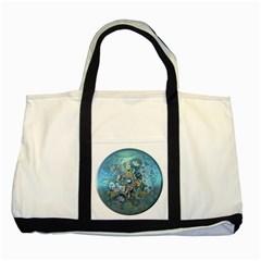 Led Zeppelin III Art Two Toned Tote Bag
