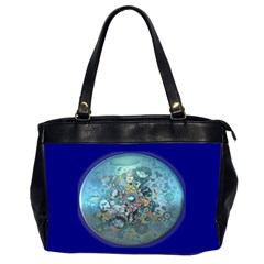 Led Zeppelin Iii Art Oversize Office Handbag (two Sides)