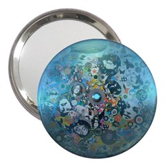 Led Zeppelin Iii Art 3  Handbag Mirror