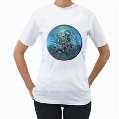 Led Zeppelin III Art Women s T-Shirt (White)