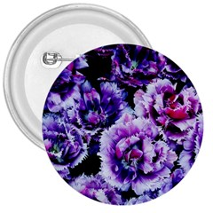 Purple Wildflowers Of Hope 3  Button
