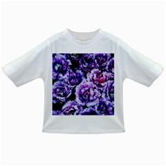 Purple Wildflowers Of Hope Baby T Shirt