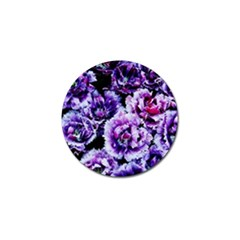 Purple Wildflowers Of Hope Golf Ball Marker 4 Pack