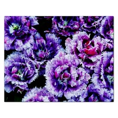 Purple Wildflowers Of Hope Jigsaw Puzzle (rectangle)