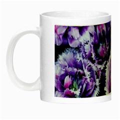 Purple Wildflowers Of Hope Glow In The Dark Mug