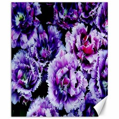Purple Wildflowers Of Hope Canvas 8  X 10  (unframed)