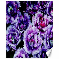 Purple Wildflowers Of Hope Canvas 16  x 20  (Unframed)