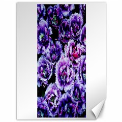Purple Wildflowers Of Hope Canvas 36  X 48  (unframed)