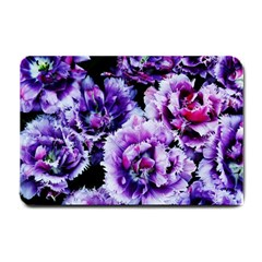 Purple Wildflowers Of Hope Small Door Mat