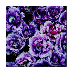 Purple Wildflowers Of Hope Face Towel