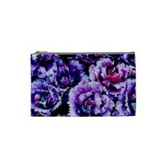 Purple Wildflowers Of Hope Cosmetic Bag (small)