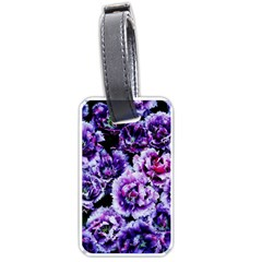 Purple Wildflowers Of Hope Luggage Tag (One Side)
