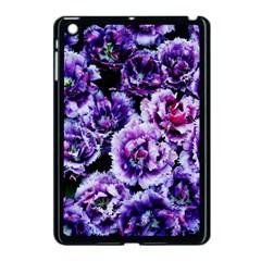 Purple Wildflowers Of Hope Apple Ipad Mini Case (black)