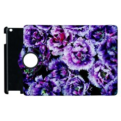 Purple Wildflowers Of Hope Apple iPad 2 Flip 360 Case