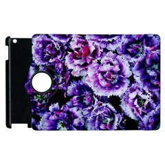 Purple Wildflowers Of Hope Apple iPad 3/4 Flip 360 Case