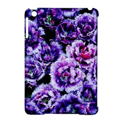 Purple Wildflowers Of Hope Apple iPad Mini Hardshell Case (Compatible with Smart Cover)