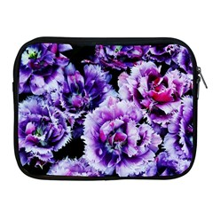 Purple Wildflowers Of Hope Apple Ipad Zippered Sleeve