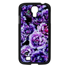 Purple Wildflowers Of Hope Samsung Galaxy S4 I9500/ I9505 Case (Black)