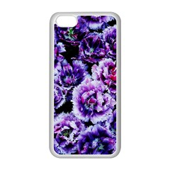 Purple Wildflowers Of Hope Apple Iphone 5c Seamless Case (white)
