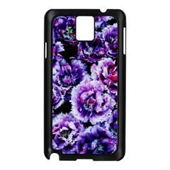 Purple Wildflowers Of Hope Samsung Galaxy Note 3 N9005 Case (Black)
