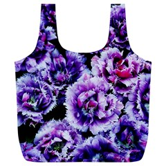 Purple Wildflowers Of Hope Reusable Bag (XL)