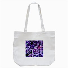 Purple Wildflowers Of Hope Tote Bag (white)