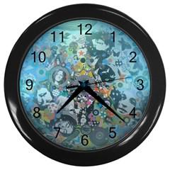 Led Zeppelin Iii Art Wall Clock (black)