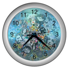 Led Zeppelin Iii Art Wall Clock (silver)